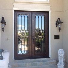 Mediterranean Entry by Just Talking Doors