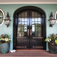 Mediterranean Entry by Phillip W Smith General Contractor, Inc.