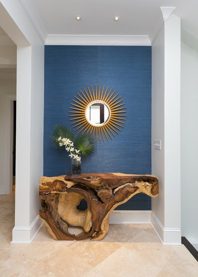 Beach Style Entry by Signature Design Studio