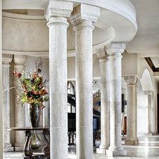 Mediterranean Entry by JAUREGUI Architecture Interiors Construction