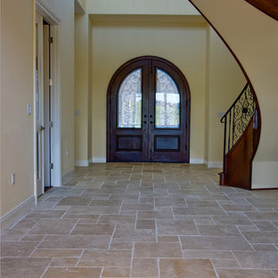 Ivory Cream French Pattern Travertine Tiles