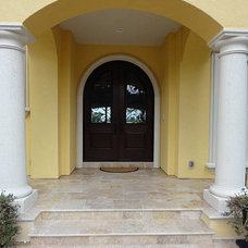Tropical Entry by Travertine Mart