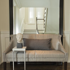 contemporary entry by Jennifer Backstein Interiors