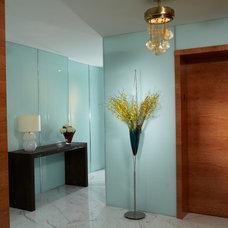 Contemporary Entry by J Design Group - Interior Designers Miami - Modern