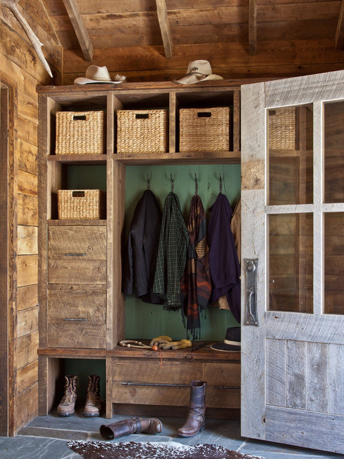 Houzz Rustic Foyer : Best rustic entryway design ideas remodel pictures houzz
