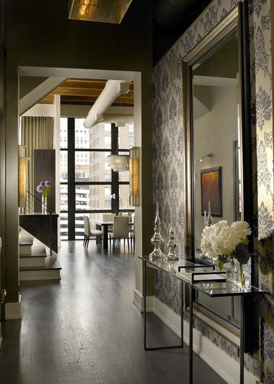 Industrial Entry by jamesthomas Interiors
