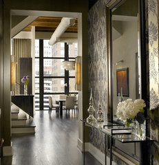 contemporary entry by jamesthomas, LLC