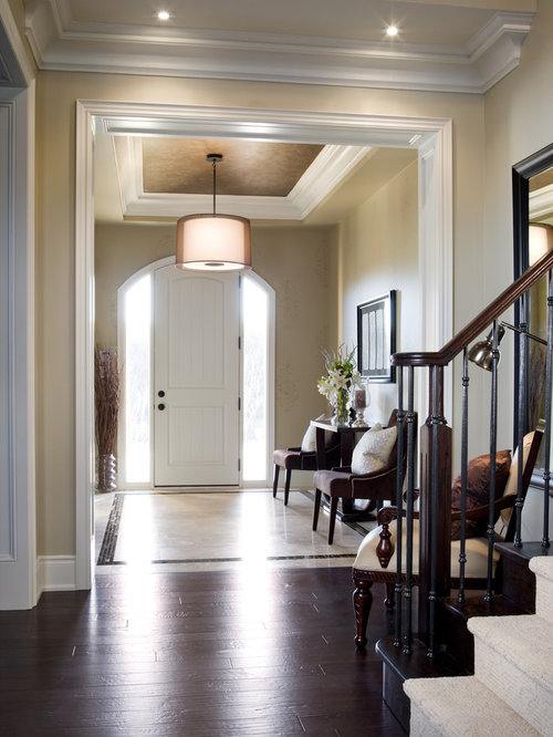 Foyer Tray Ceiling : Tray ceiling in foyer houzz