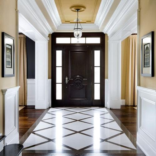 Houzz Foyer Tile : Entryway floor houzz