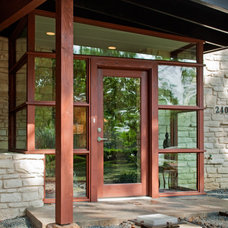 Midcentury Entry by CG&S Design-Build