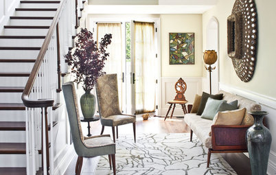 Houzz Tour: Layered Look Adds a Fresh Sense of Style