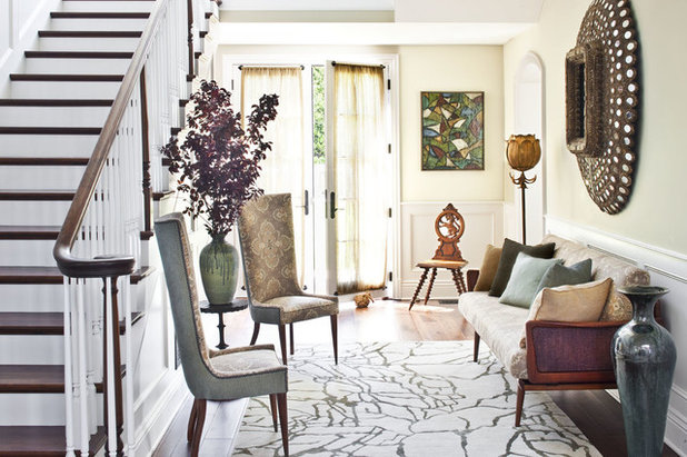 Houzz Tour Layered Look Adds A Fresh Sense Of Style