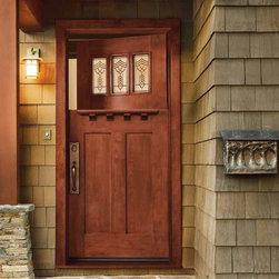 Craftsman dutch door entryway design ideas pictures for Craftsman dutch door