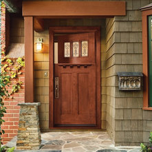 Rustic Entry by JELD-WEN Windows and Doors