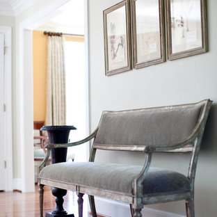 Inspiration for a timeless entryway remodel in Baltimore