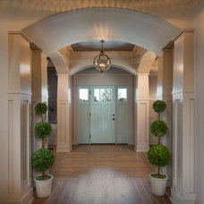 Transitional Entry by Romanelli & Hughes Custom Home Builders