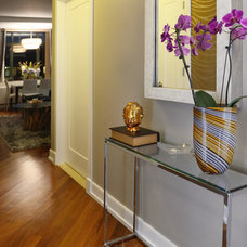 Contemporary Entry by Decorating Den Interiors