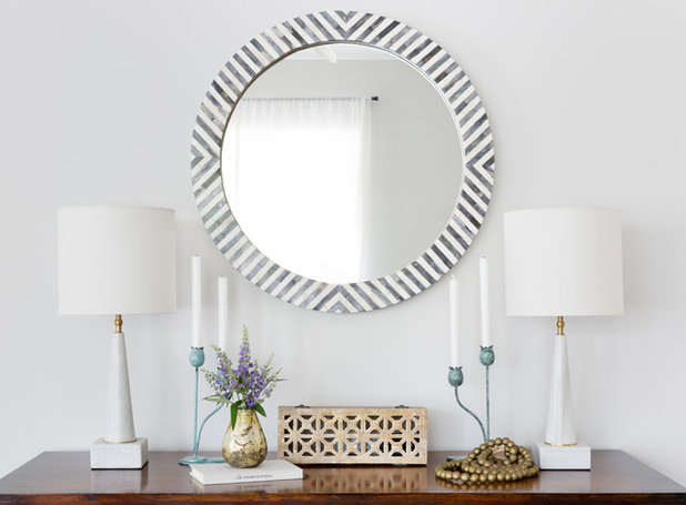 Transitional Entry by Lauren Ramirez Styling & Interiors