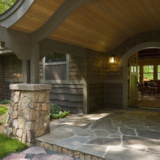 Rustic Entry by nancekivell home planning & design