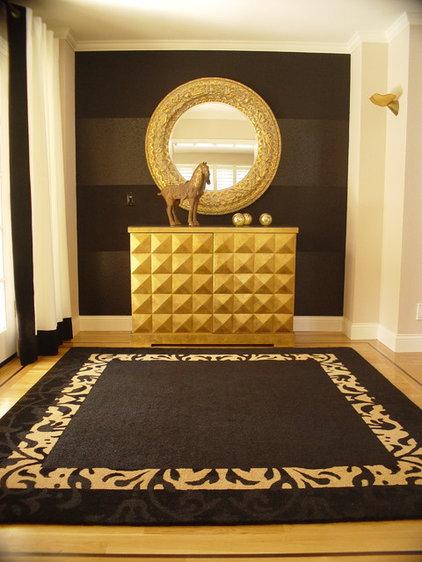 Contemporary Entry by Jona Collins Interior Design