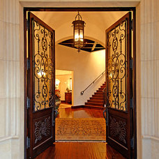 Mediterranean Entry by Joni Koenig Interiors