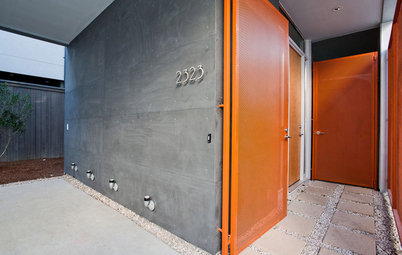 Front and Center Color: When to Paint Your Door Orange