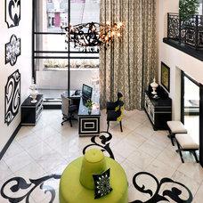 Contemporary Entry by Robin Wilson Interior Design