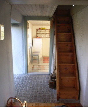 Narrow stairs home design ideas pictures remodel and decor - Stairs small spaces gallery ...