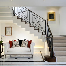 Transitional Entry by JD Ireland Interior Architecture + Design