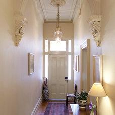 Traditional Entry by Manias Associates Building Designers