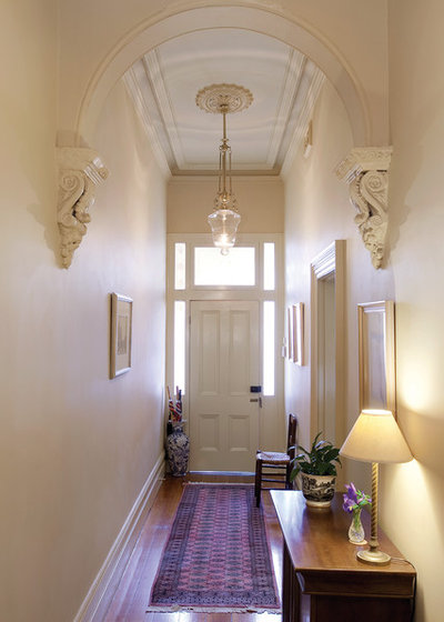 Victorian Entry by Manias Associates Building Designers