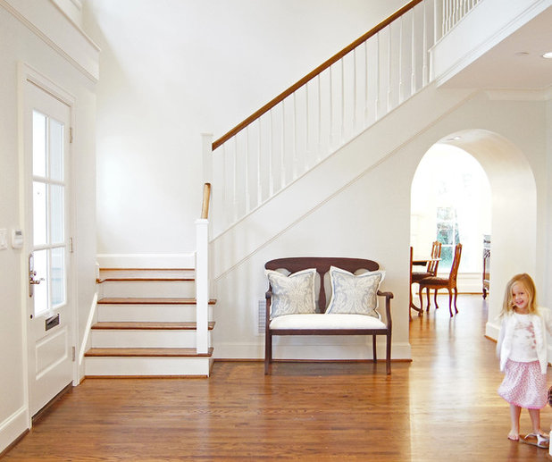American Traditional Entry Kara Weik © 2012 Houzz