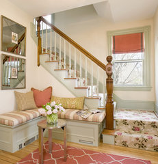 traditional entry by Karen Joy Interiors