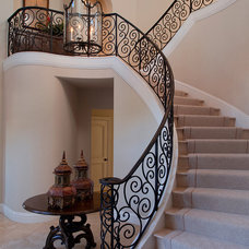 Traditional Entry by Kathy Bloodworth Interior Design