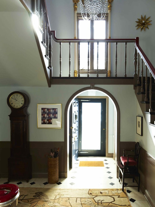 Entry Foyer Houzz : Tile entryway houzz