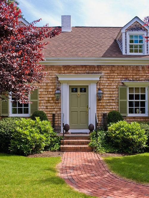 Cape Cod Front Door Home Design Ideas Pictures Remodel
