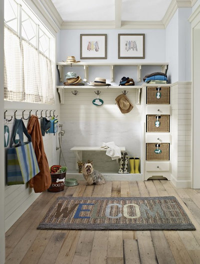 Farmhouse Entry by Classic Kitchens & Baths