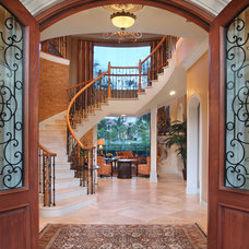 Contemporary Entry by KDS Interiors, Inc.