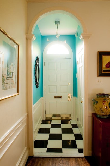 Eclectic Entry by Kelly Nelson Designs