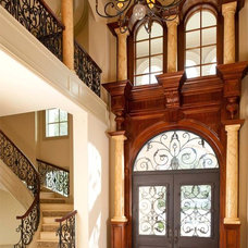 Traditional Entry by Dallas Design Group, Interiors