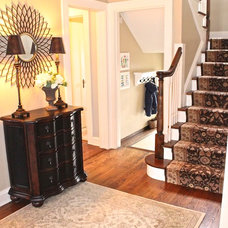 Traditional Entry by Steffanie Danby Interiors