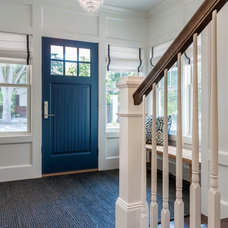 Craftsman Entry by Peterssen/Keller Architecture