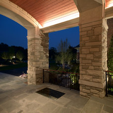 Traditional Entry by kevin akey - azd architects - michigan