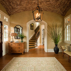 traditional entry by Island Architects