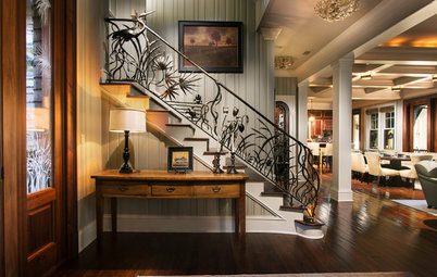 11 Extraordinary Staircase Railing Designs
