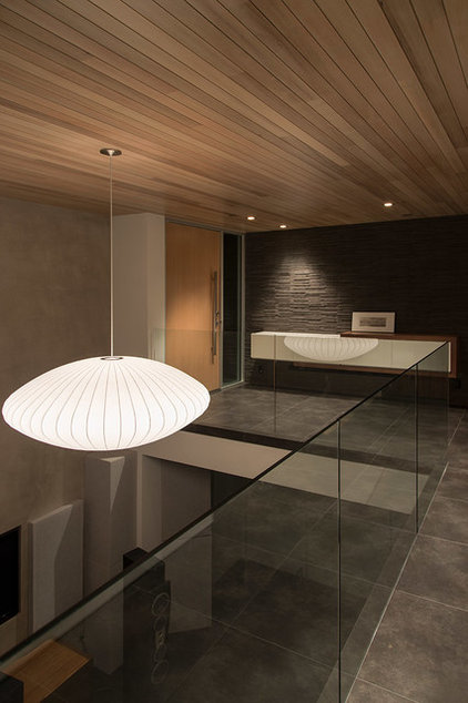 Contemporary Entry by Michael Lee Architects
