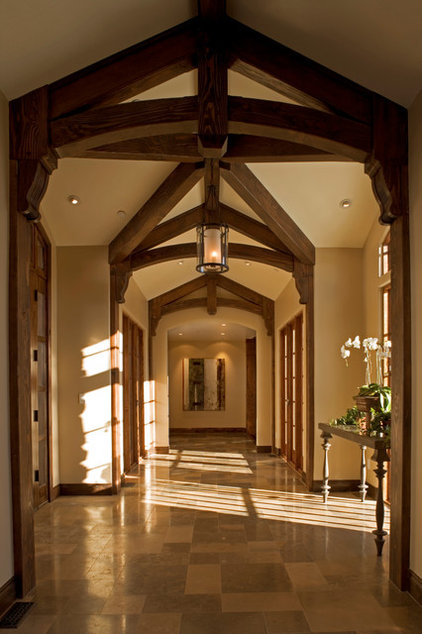 Traditional Entry by ZD Interiors