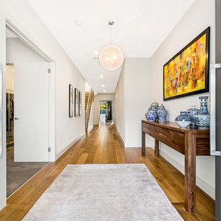 Contemporary entryway in Adelaide.