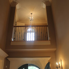 Traditional Entry by Rusert Custom Homes