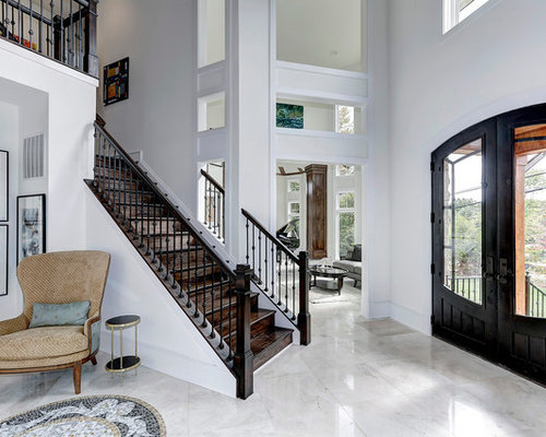Elegant Foyer Tiles : Marble foyer houzz